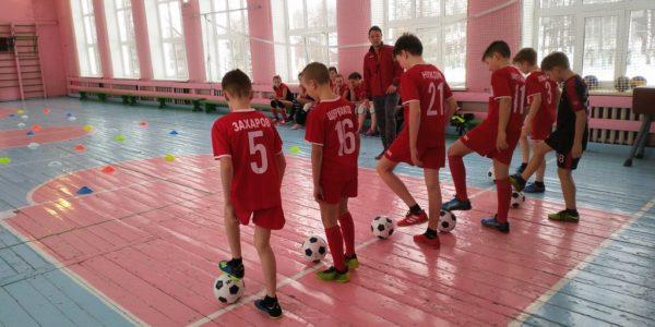 Мини-футбол. Учитель Рябов Д.И