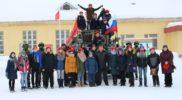 Юнармейский отряд Патриот в Сормовской оперативной бригаде