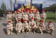 Новое пополнение юнармейцев в Парке Победы г.Нижний Новгород