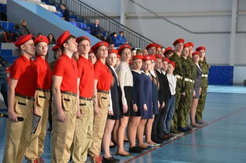 32 школьника пополнили ряды ВВПОД Юнармия