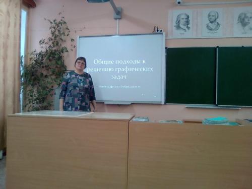 Анализ решения задач проводит  учитель Тебекина НН.